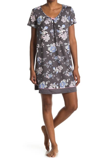Image of Ellen Tracy Short Sleeve Nightgown