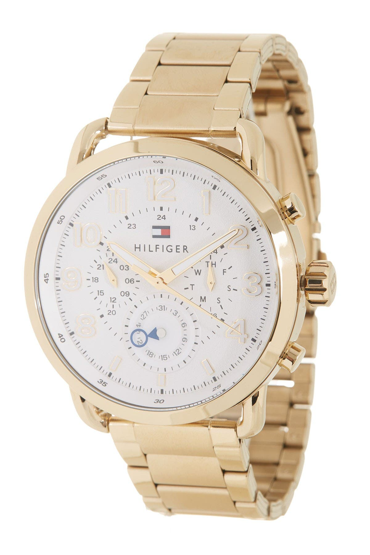 Image of Tommy Hilfiger Men's Briggs Bracelet Watch, 46mm