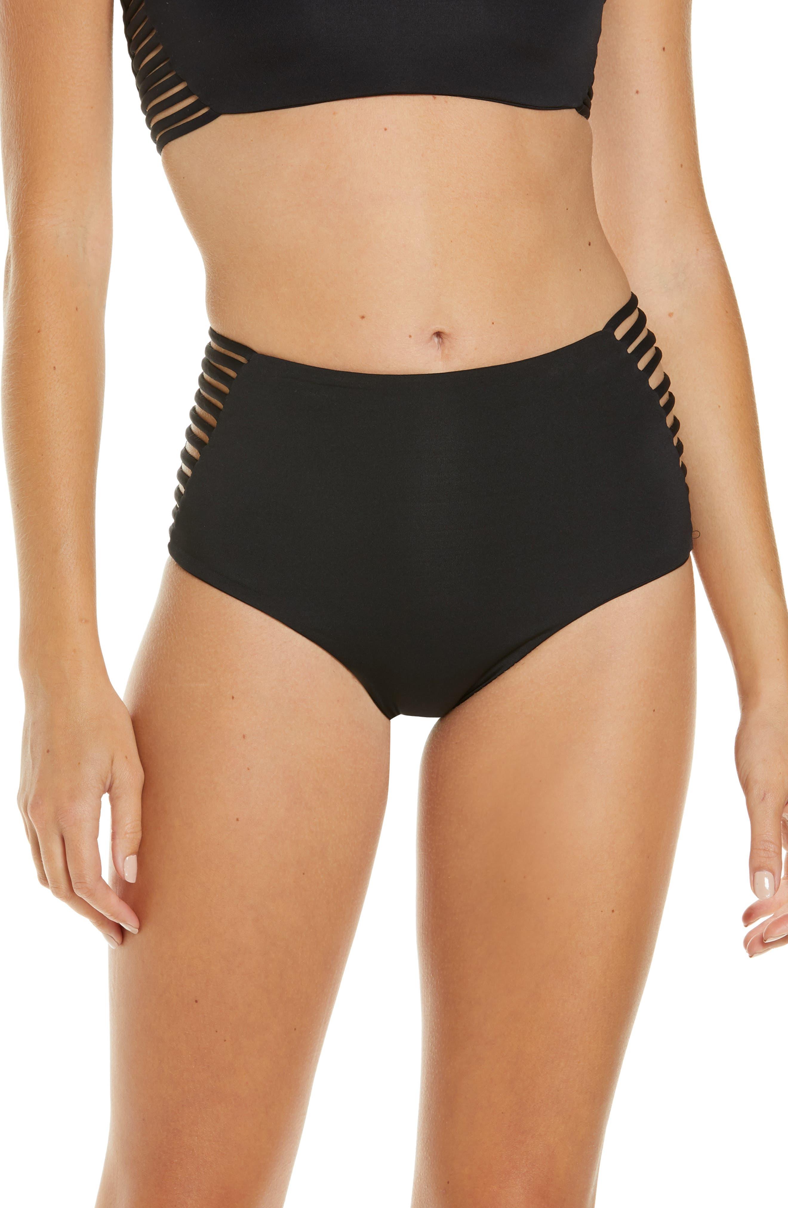 Women's L Space Harrington High Waist Bikini Bottoms
