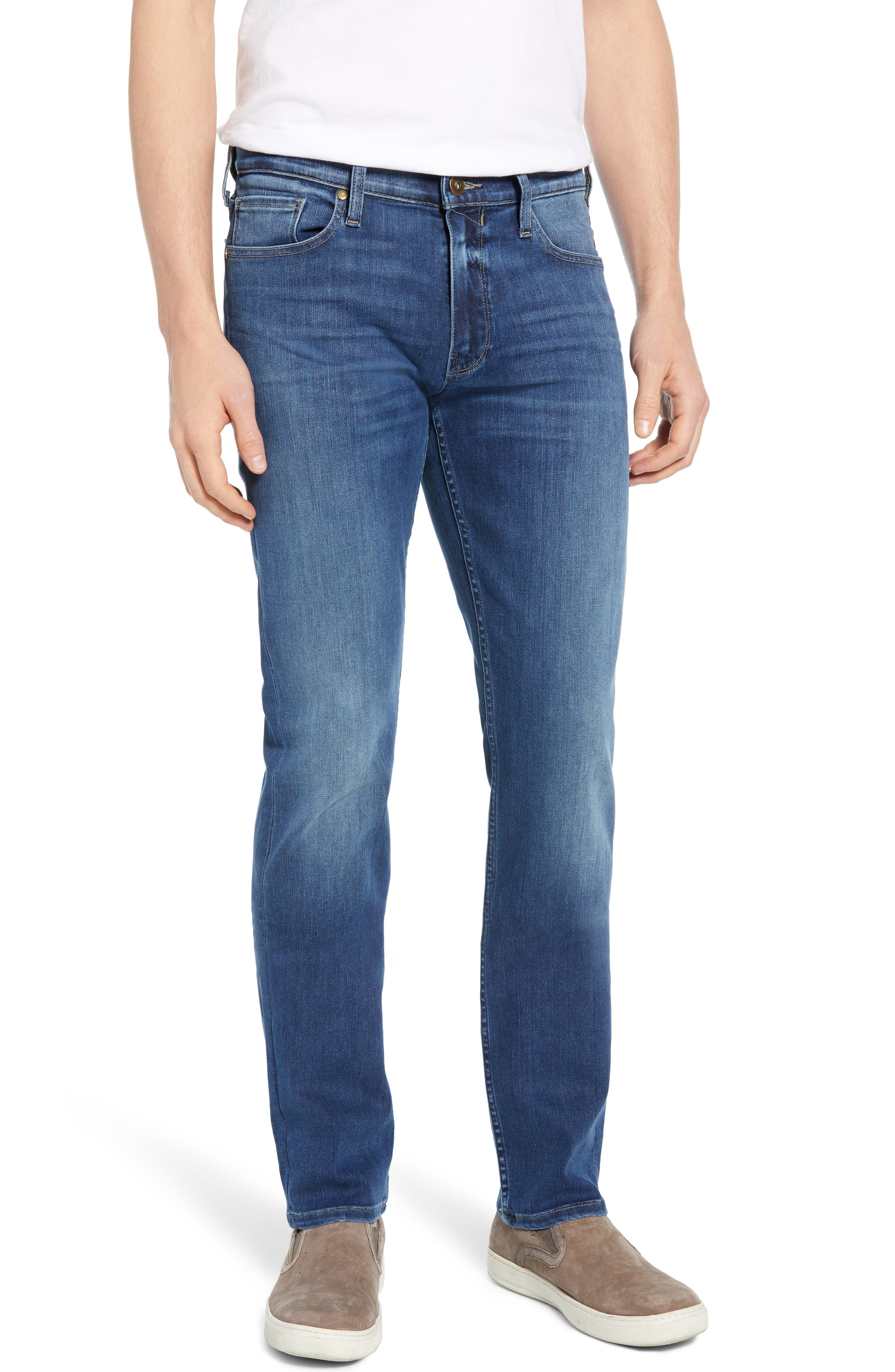 Transcend Vintage - Lennox Slim Fit Jeans, Main, color, PRESTON