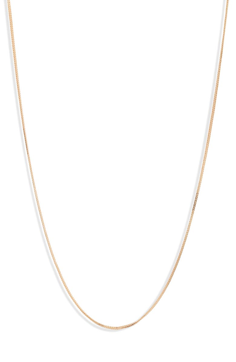 BONY LEVY Essentials 14K Gold Chain Necklace, Main, color, YELLOW GOLD