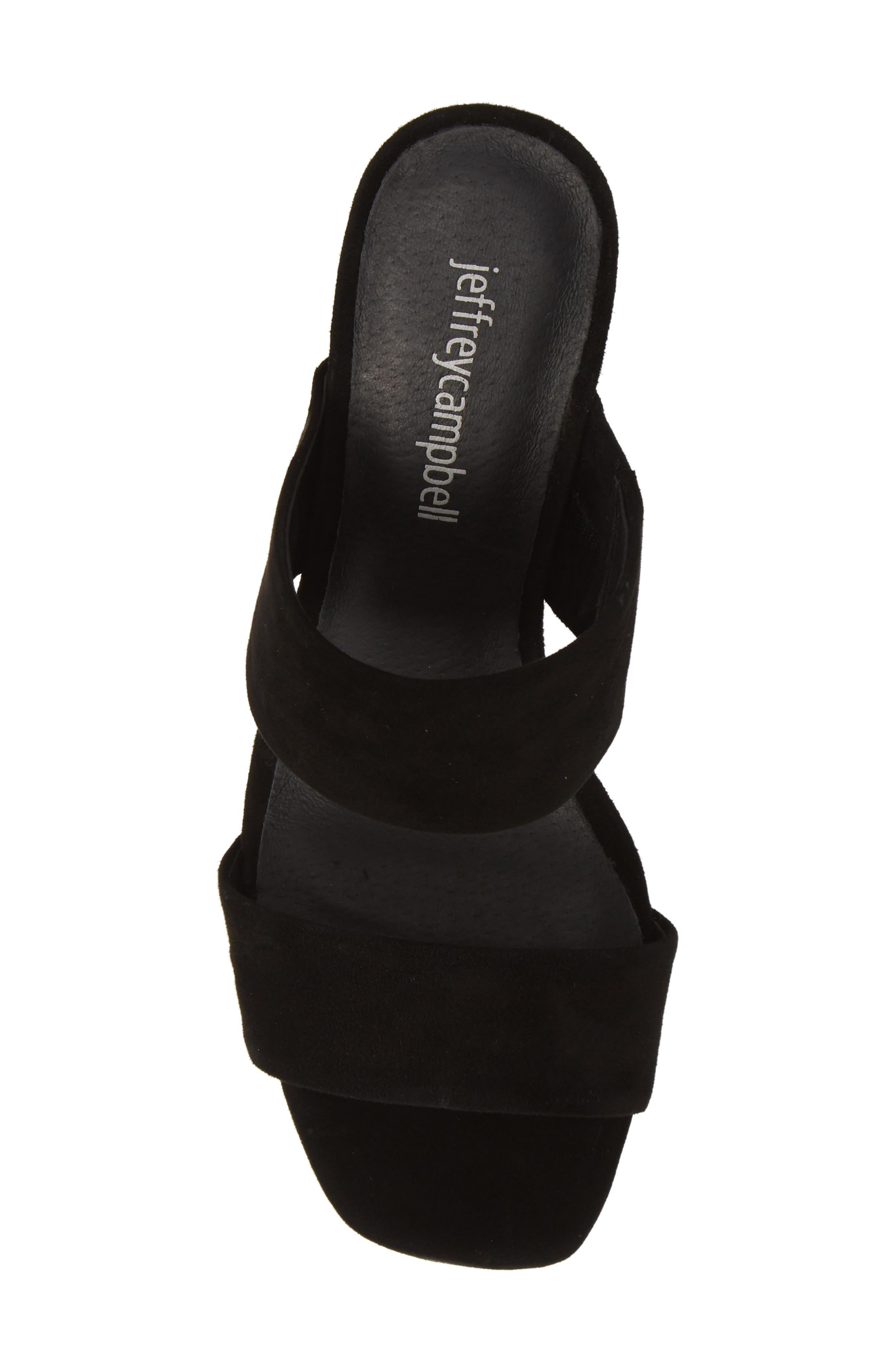 ,                             Adriana-2 Platform Slide Sandal,                             Alternate thumbnail 6, color,                             BLACK SUEDE