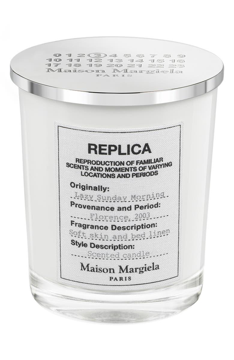 MAISON MARGIELA Replica Lazy Sunday Morning Candle, Main, color, 000