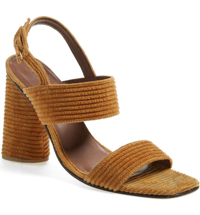 RACHEL COMEY 'Madera' Slingback Sandal, Main, color, CORDUROY