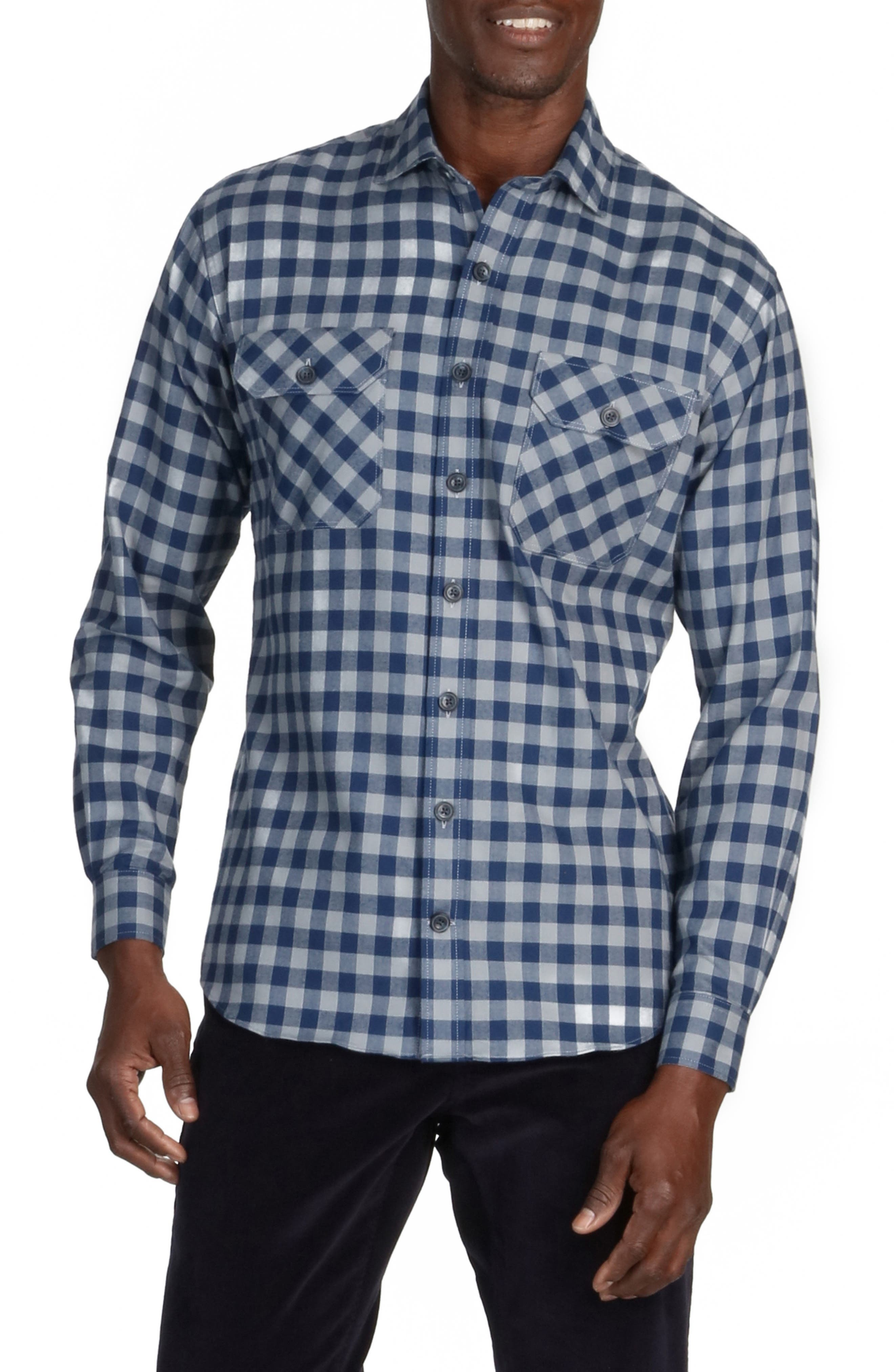 Jackson Everyday Check Flannel Button-Up Shirt
