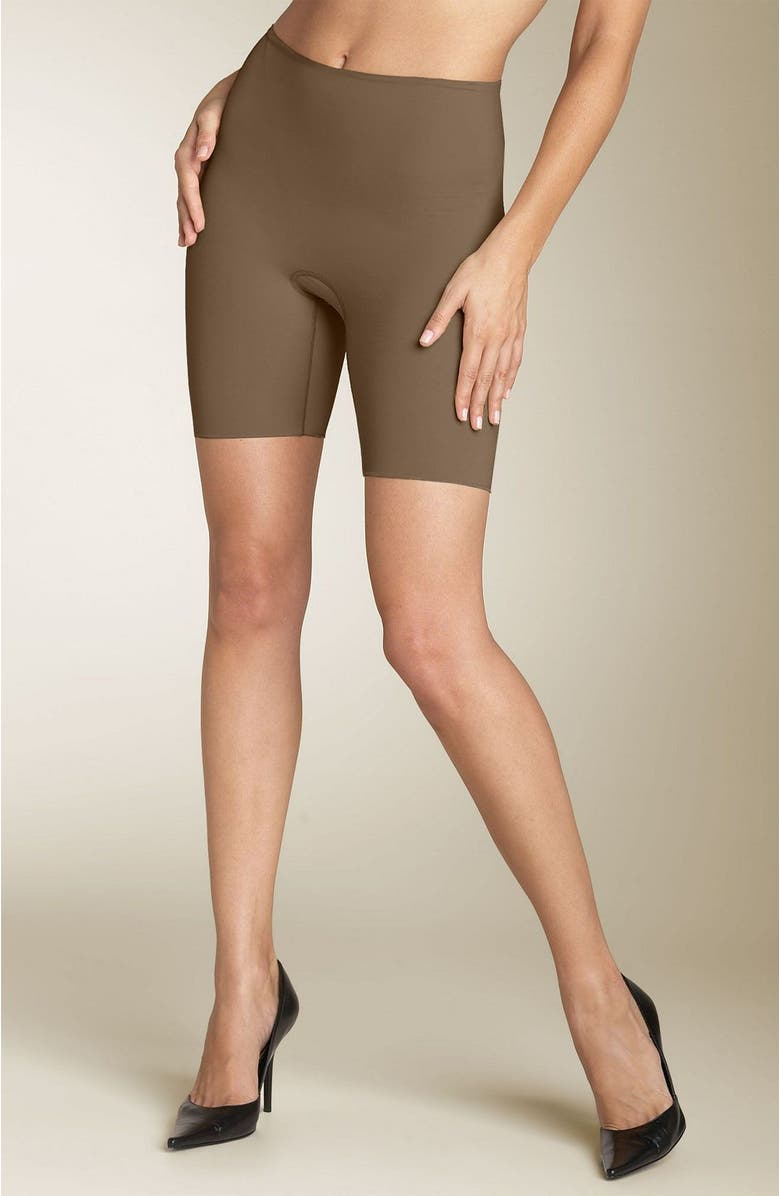 SPANX<SUP>®</SUP> 'Hide & Sleek' Mid Thigh Smoother, Main, color, 250