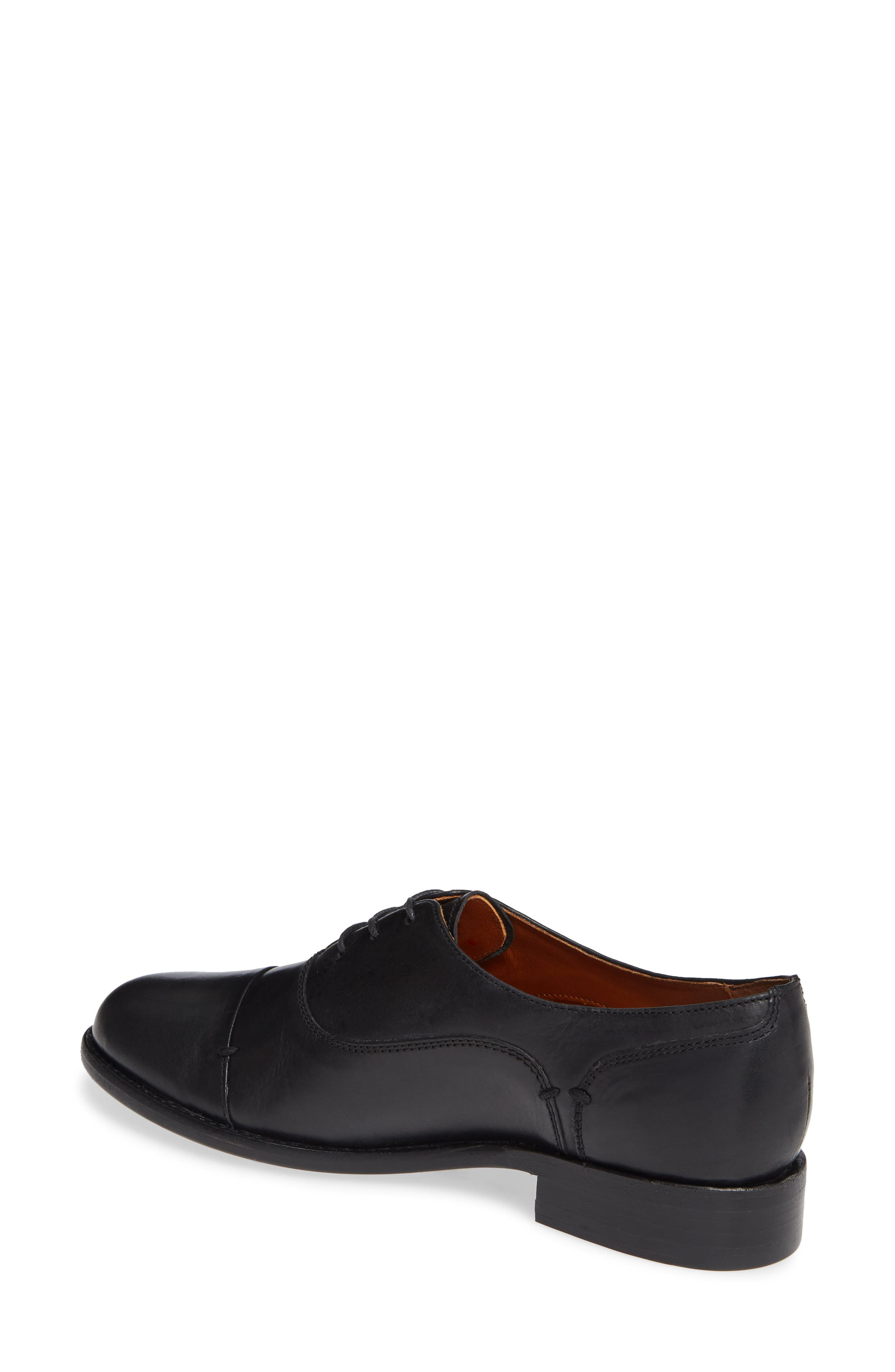 ,                             by Ariat Austen Optional Lace-Up Oxford,                             Alternate thumbnail 2, color,                             BLACK LEATHER