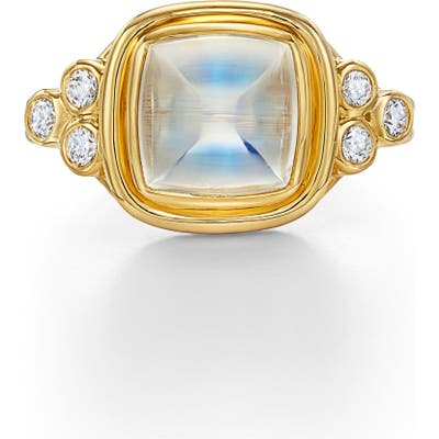 Temple St. Clair Classic Sugar Loaf Ring