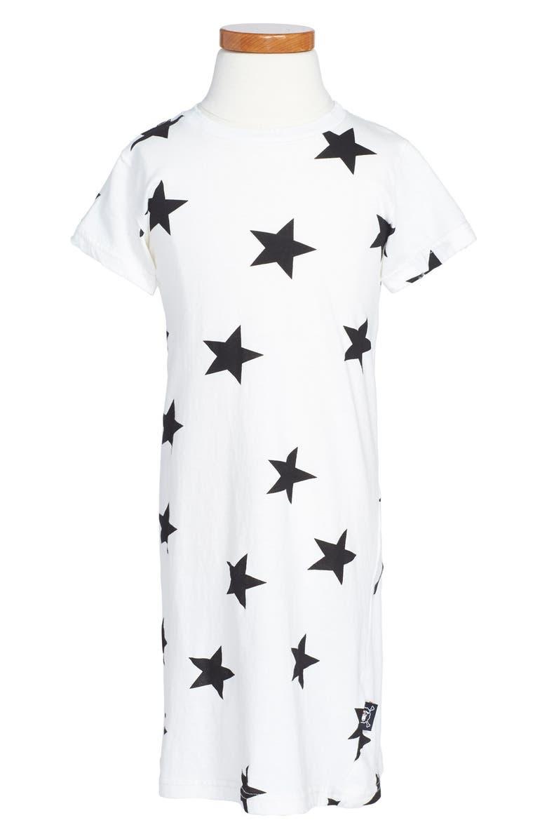 23e0de76e3e NUNUNU Star Print T-Shirt Dress (Toddler Girls & Little Girls ...