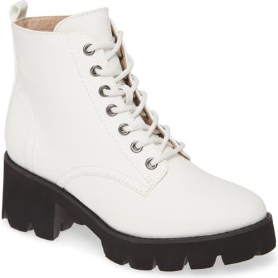 Bc Footwear Strength In Numbers Vegan Leather Bootie- White