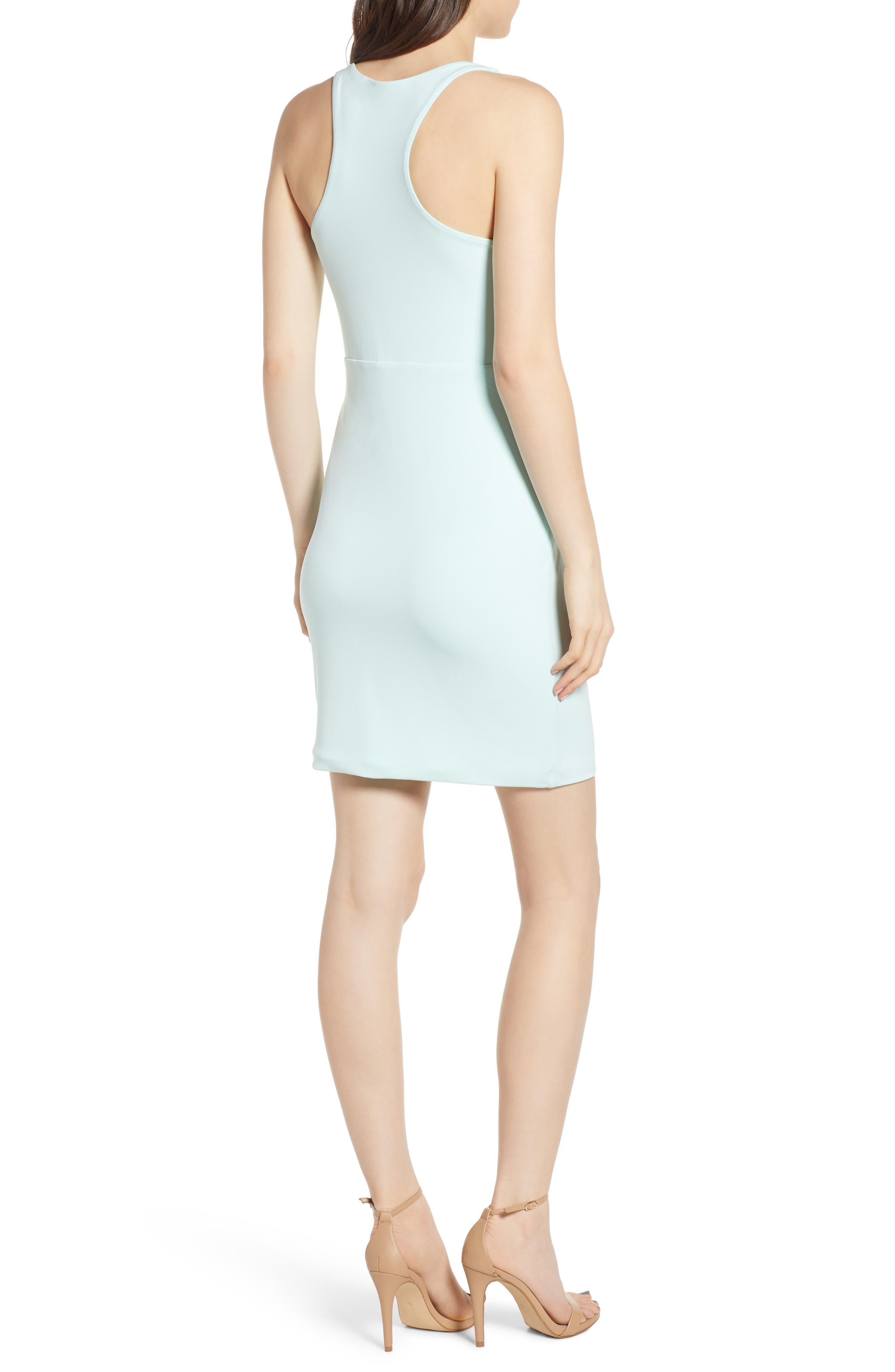 ,                             Racerback Body-Con Dress,                             Alternate thumbnail 27, color,                             445