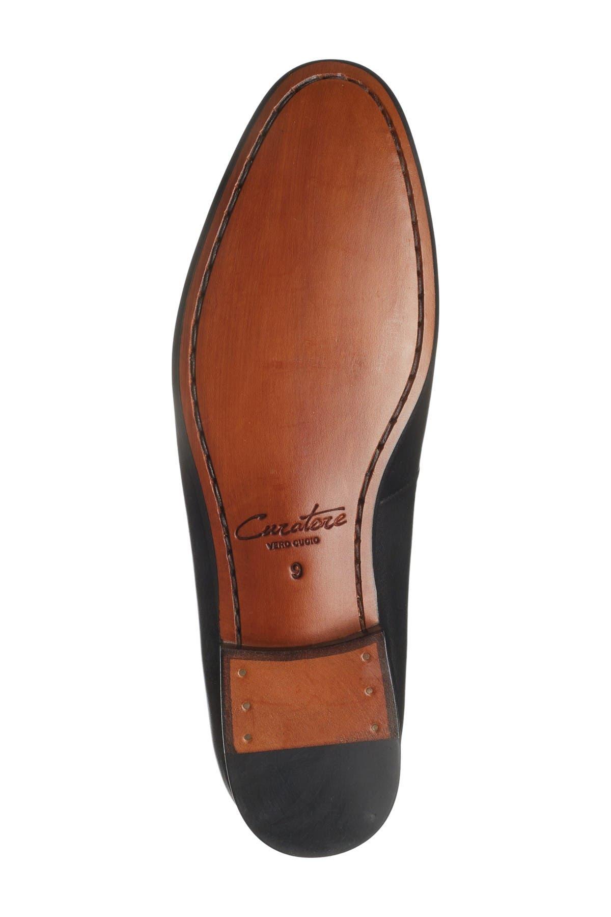 Curatore Armatto Leather Penny Loafer