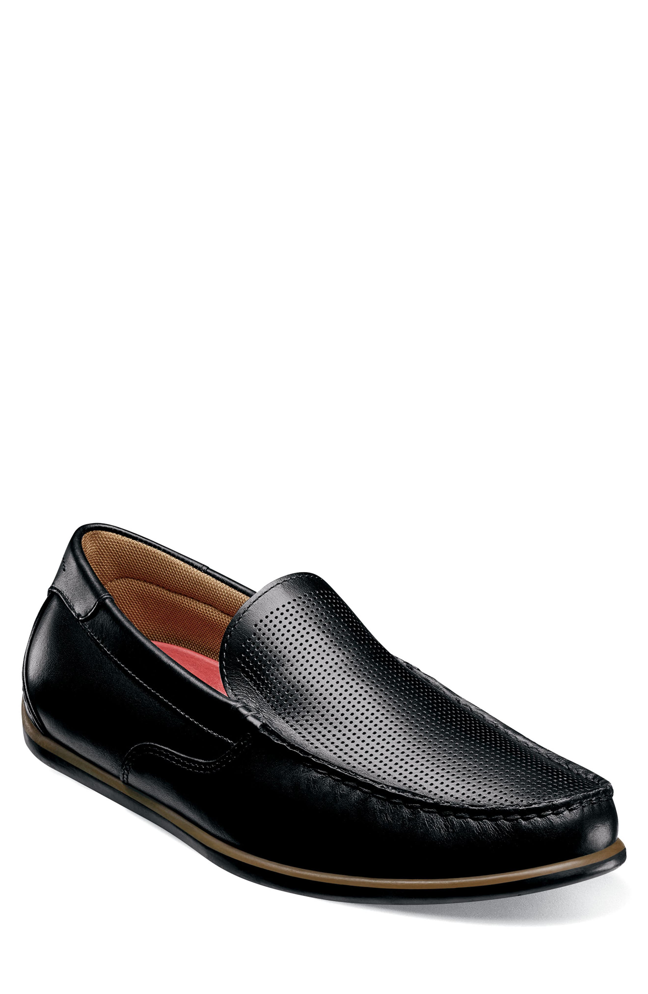 Image of Florsheim Sportster Leather Venetian Driving Loafer