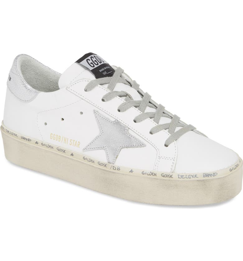 GOLDEN GOOSE Hi Star Platform Sneaker, Main, color, 105