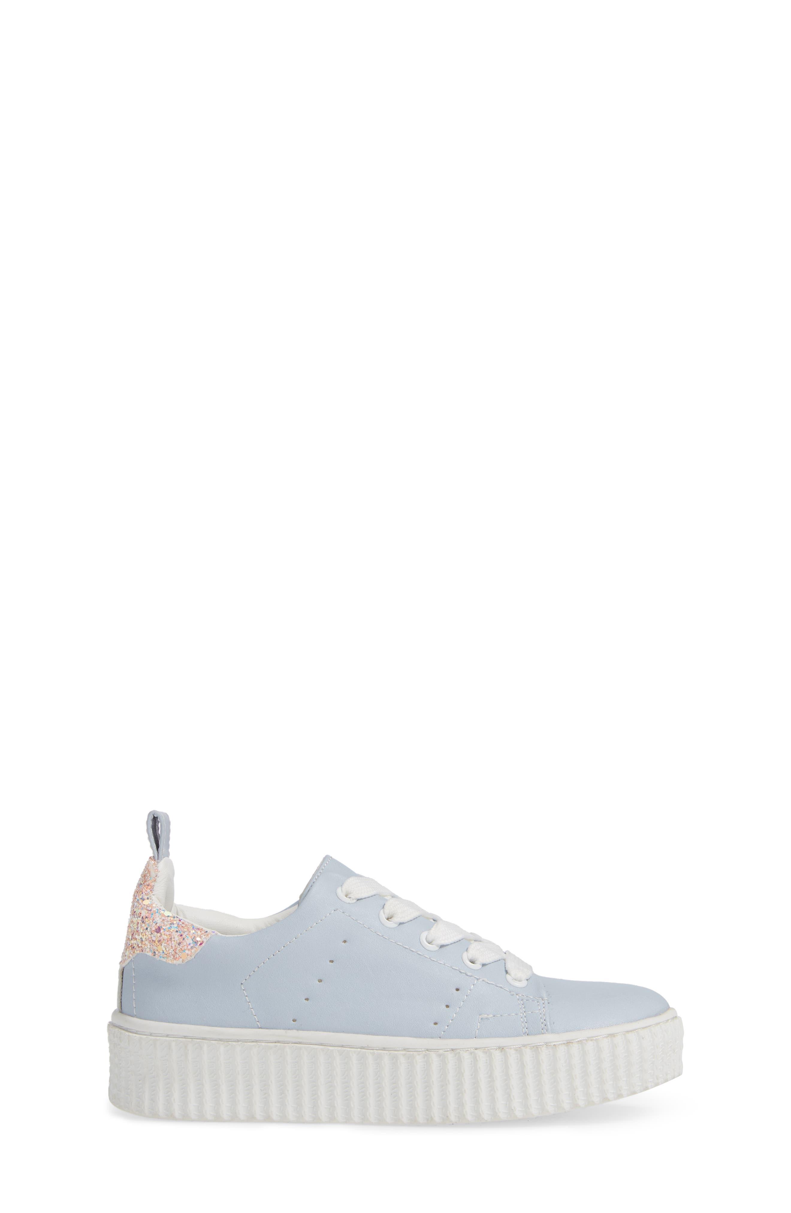 ,                             Wren Glitter Heel Sneaker,                             Alternate thumbnail 3, color,                             450