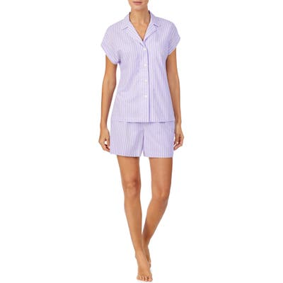 Lauren Ralph Lauren Short Pajamas, Purple