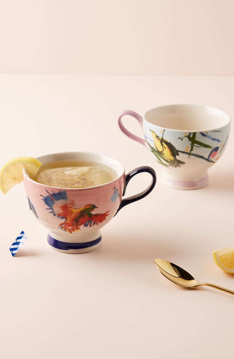 ANTHROPOLOGIE Raven Roxanne Cup, Main, color, 400