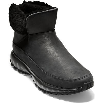 Cole Haan Zerogrand Explore All Terrain Waterproof Bootie B - Black
