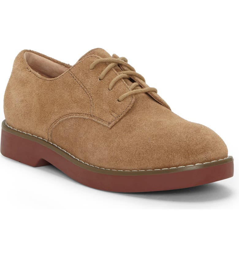 FIRST SEMESTER Nayma Plain Toe Derby, Main, color, LIGHT KHAKI