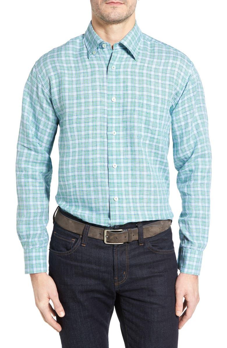 ROBERT TALBOTT Anderson Classic Fit Sport Shirt, Main, color, 449