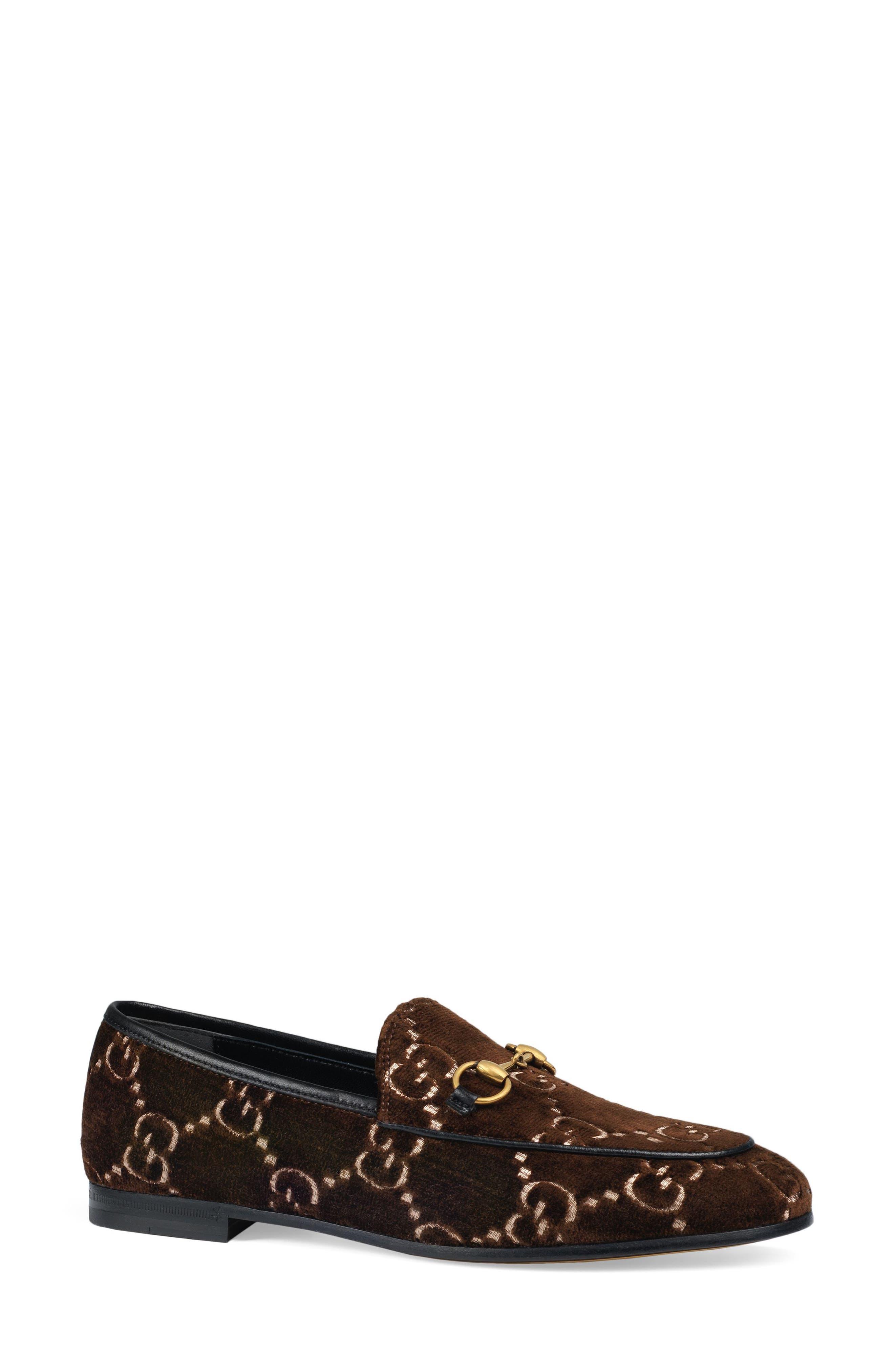 Gucci Jordaan Loafer, Brown