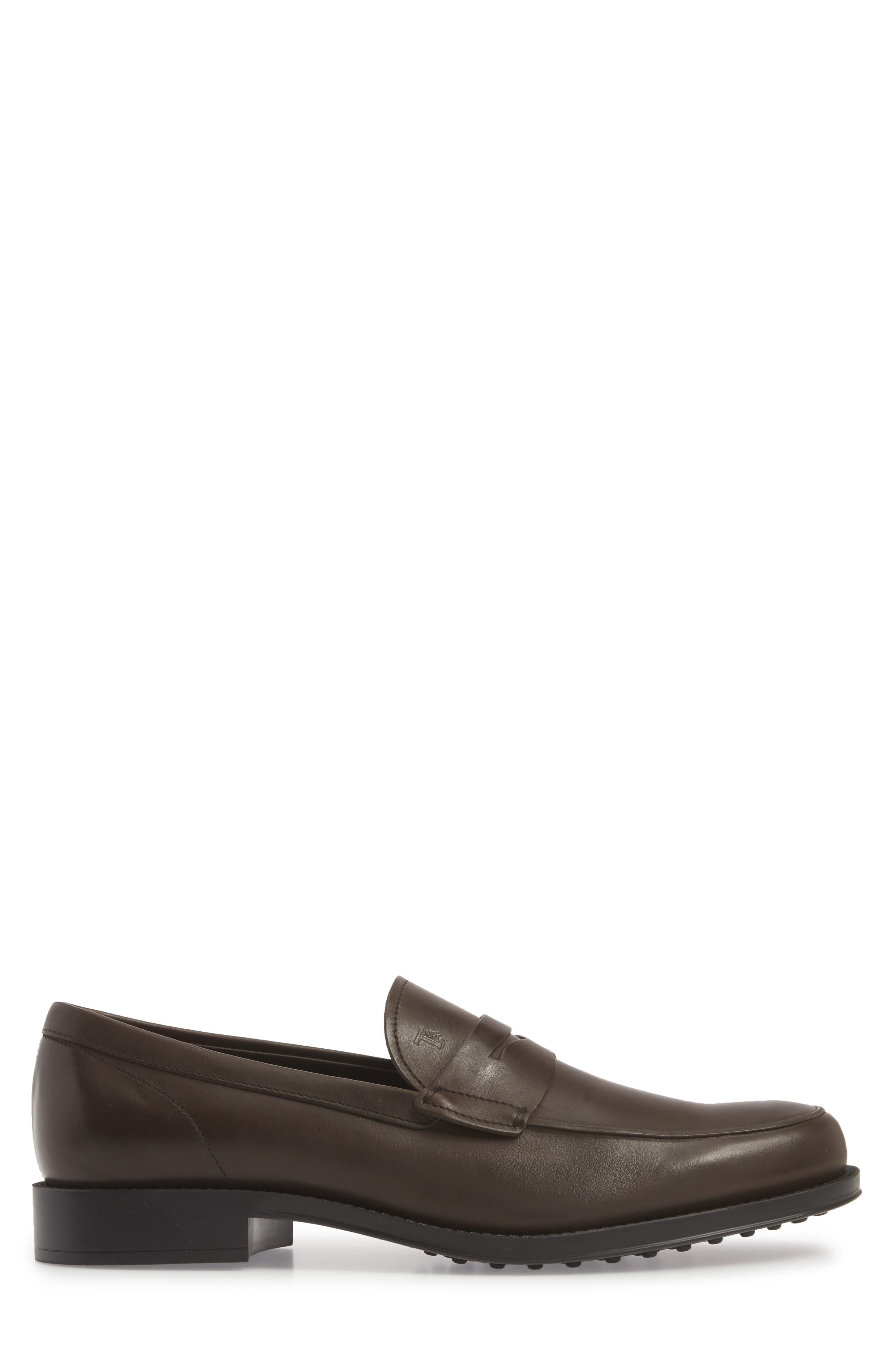,                             Penny Loafer,                             Alternate thumbnail 3, color,                             BROWN