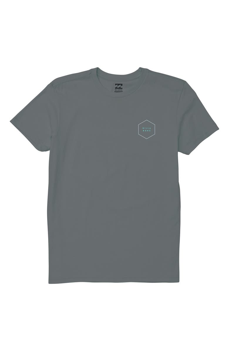 BILLABONG Access Graphic T-Shirt, Main, color, PEWTER