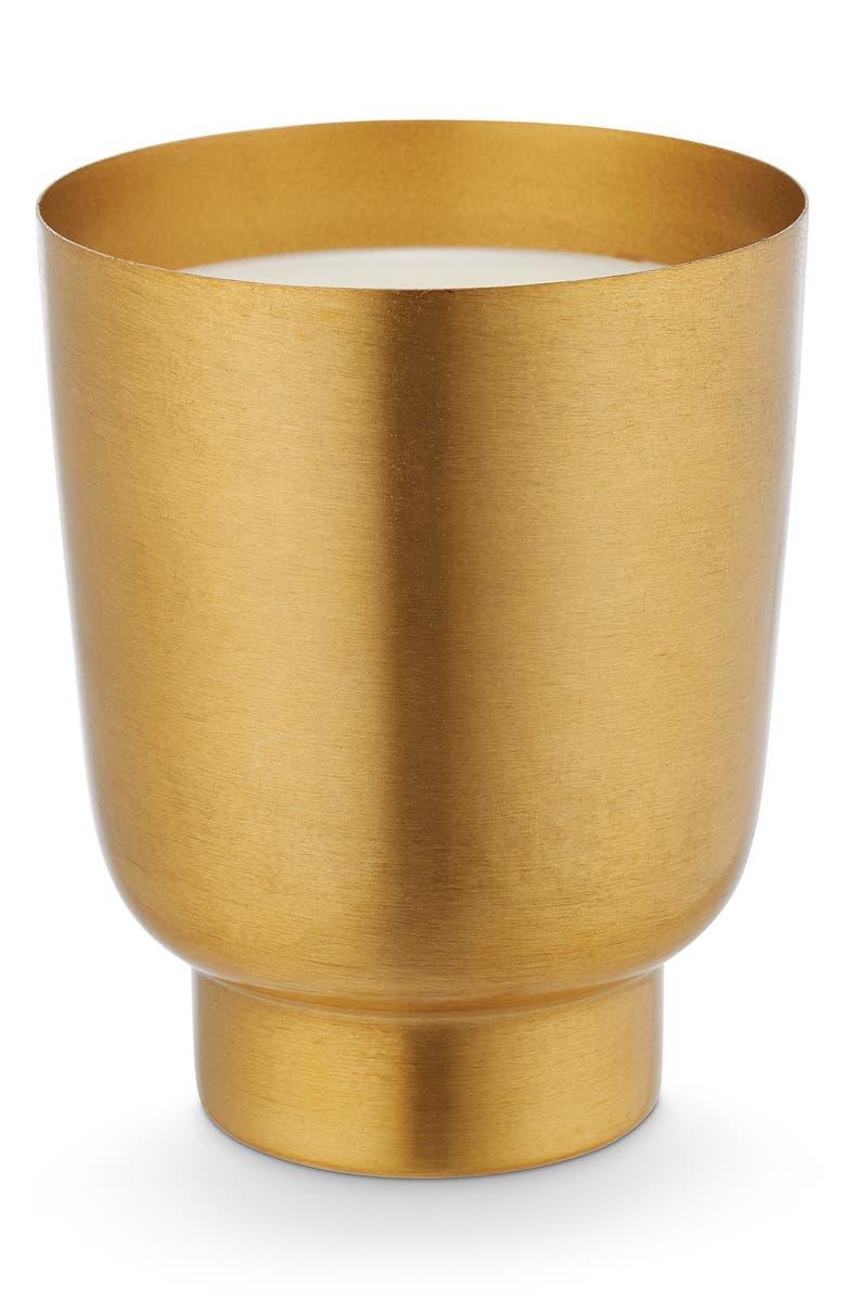 ILLUME<SUP>®</SUP> Gilded Tumbler Candle, Main, color, RUSTIC PUMPKIN