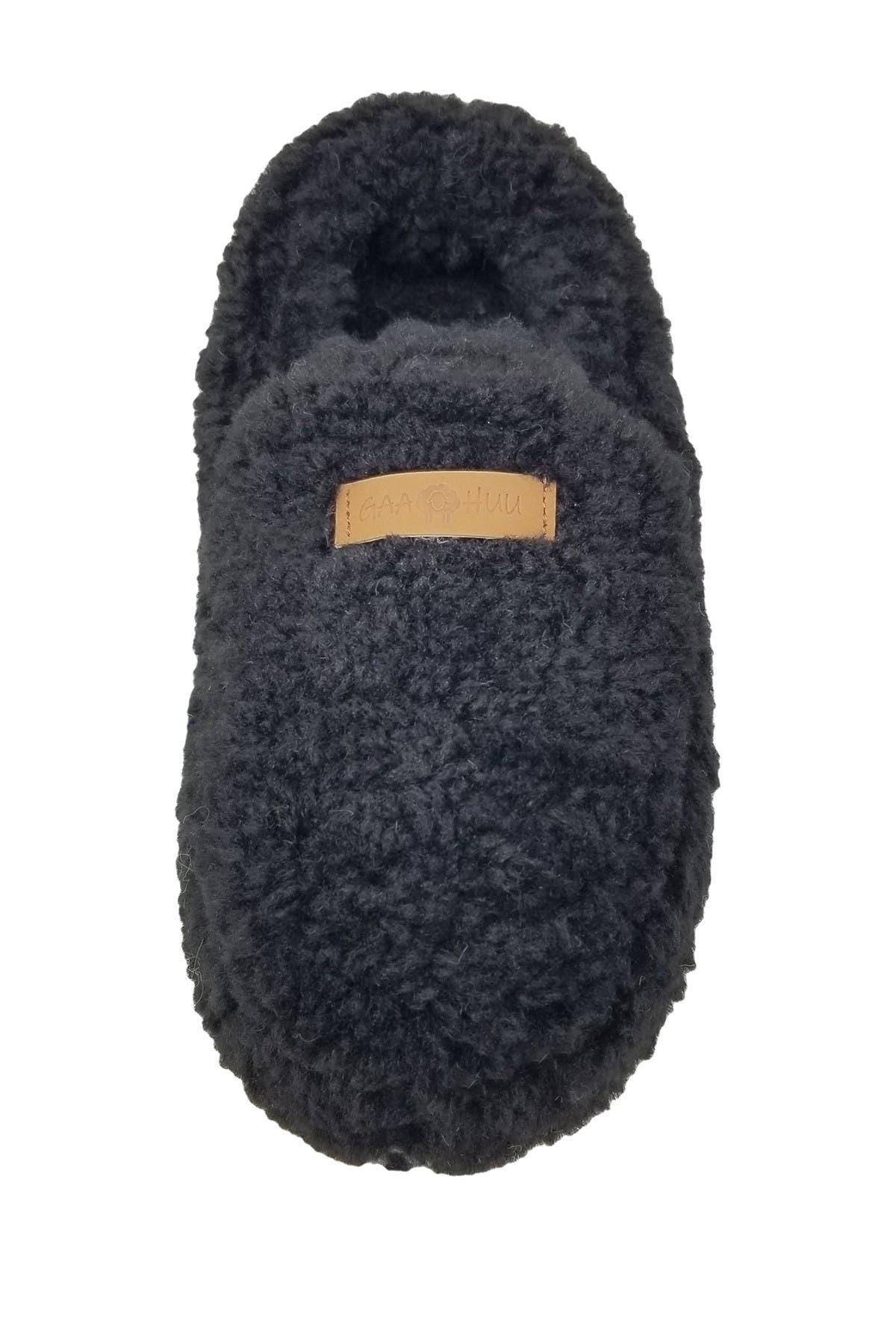 Image of GAAHUU Berber Moccasin Faux Fur Slipper