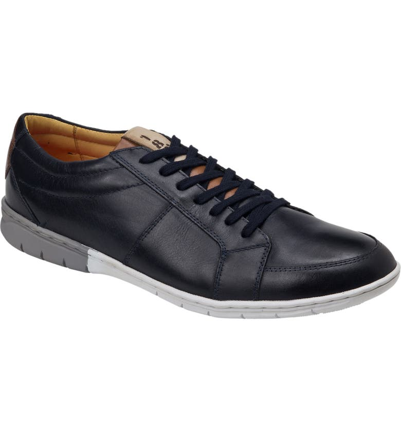 SANDRO MOSCOLONI Maximus Sneaker, Main, color, NAVY LEATHER