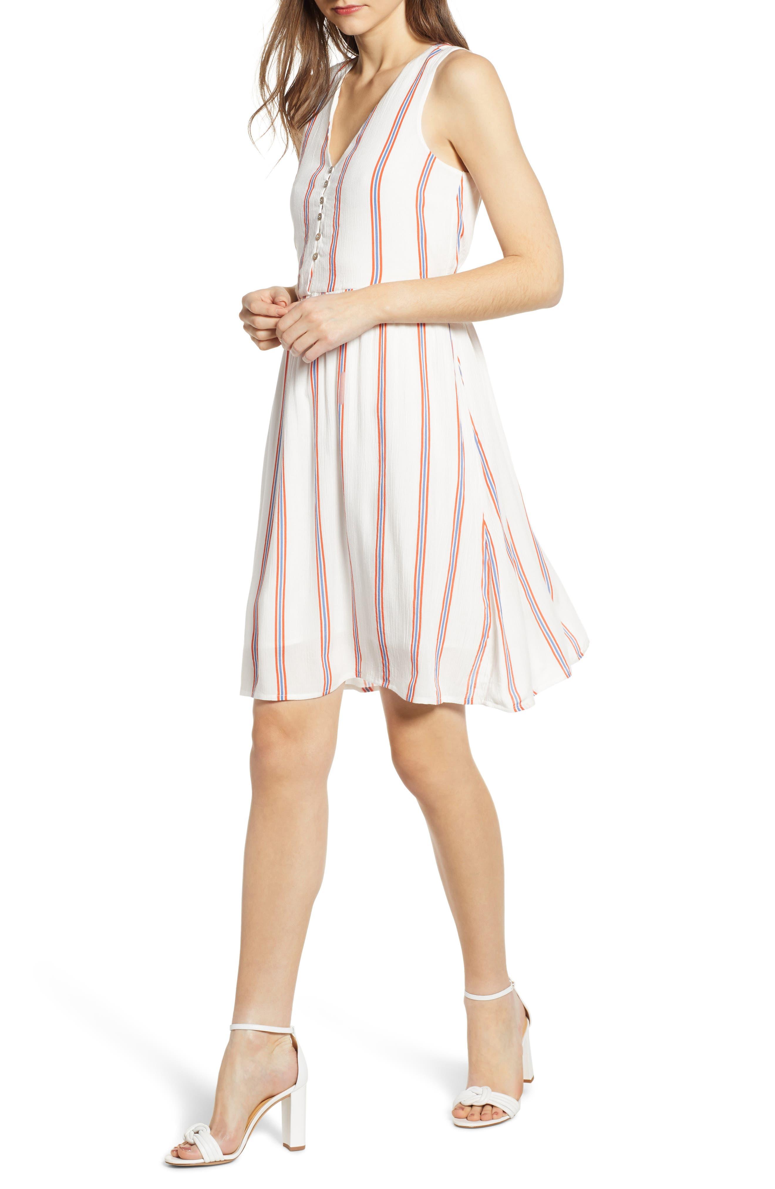 Vero Moda Hanna A-Line Dress, White