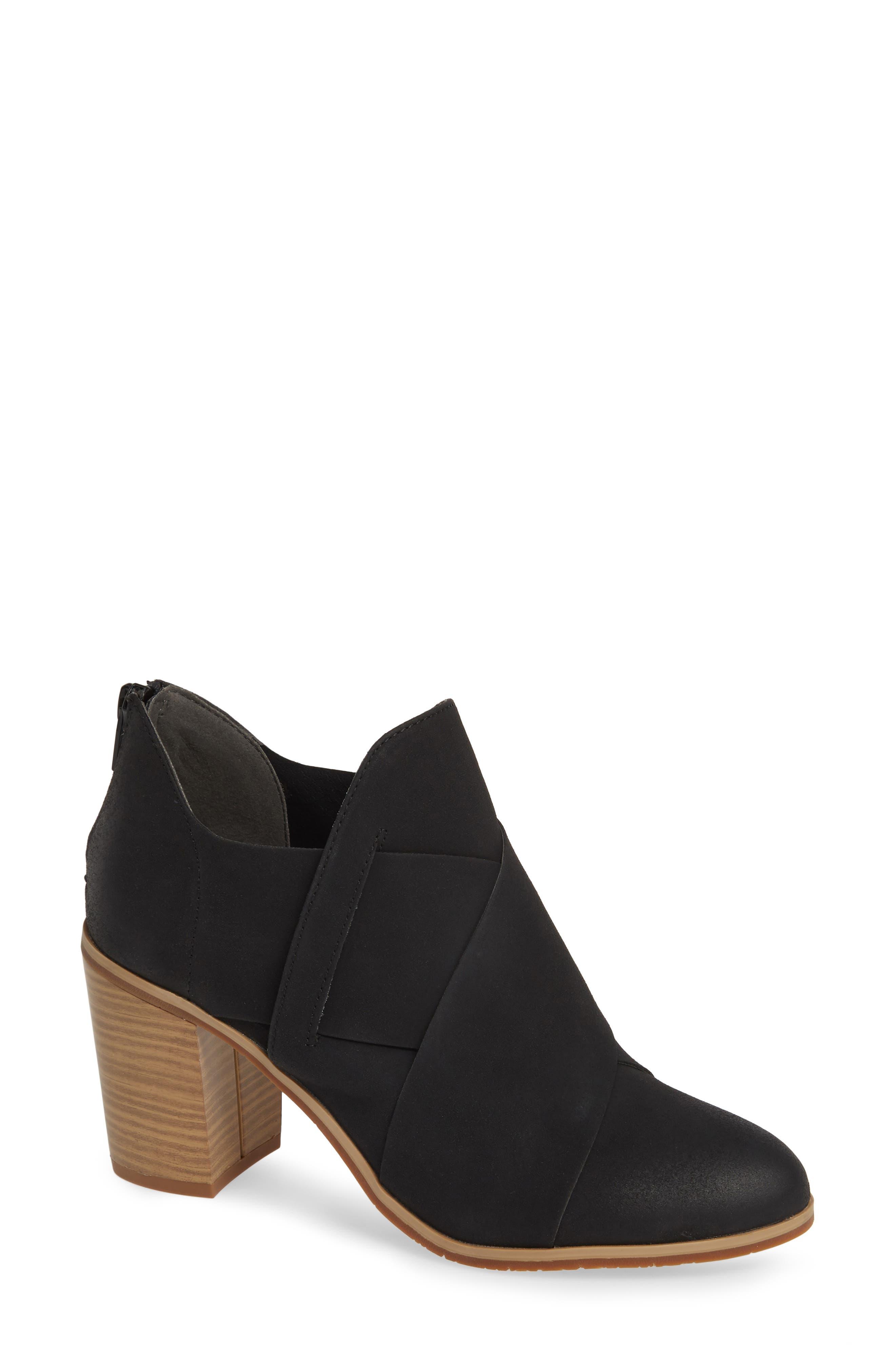Bc Footwear Azalea Vegan Crisscross Bootie, Black