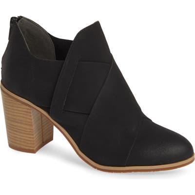 Bc Footwear Azalea Vegan Crisscross Bootie- Black