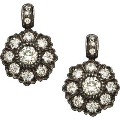 Sethi Couture Ivy Mine Rose Cut Diamond Drop Earring