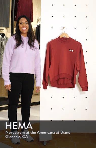 Summer Mock Neck Sweatshirt, sales video thumbnail