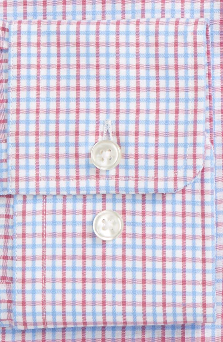 BOSS Marley Sharp Fit Check Dress Shirt, Main, color, 660