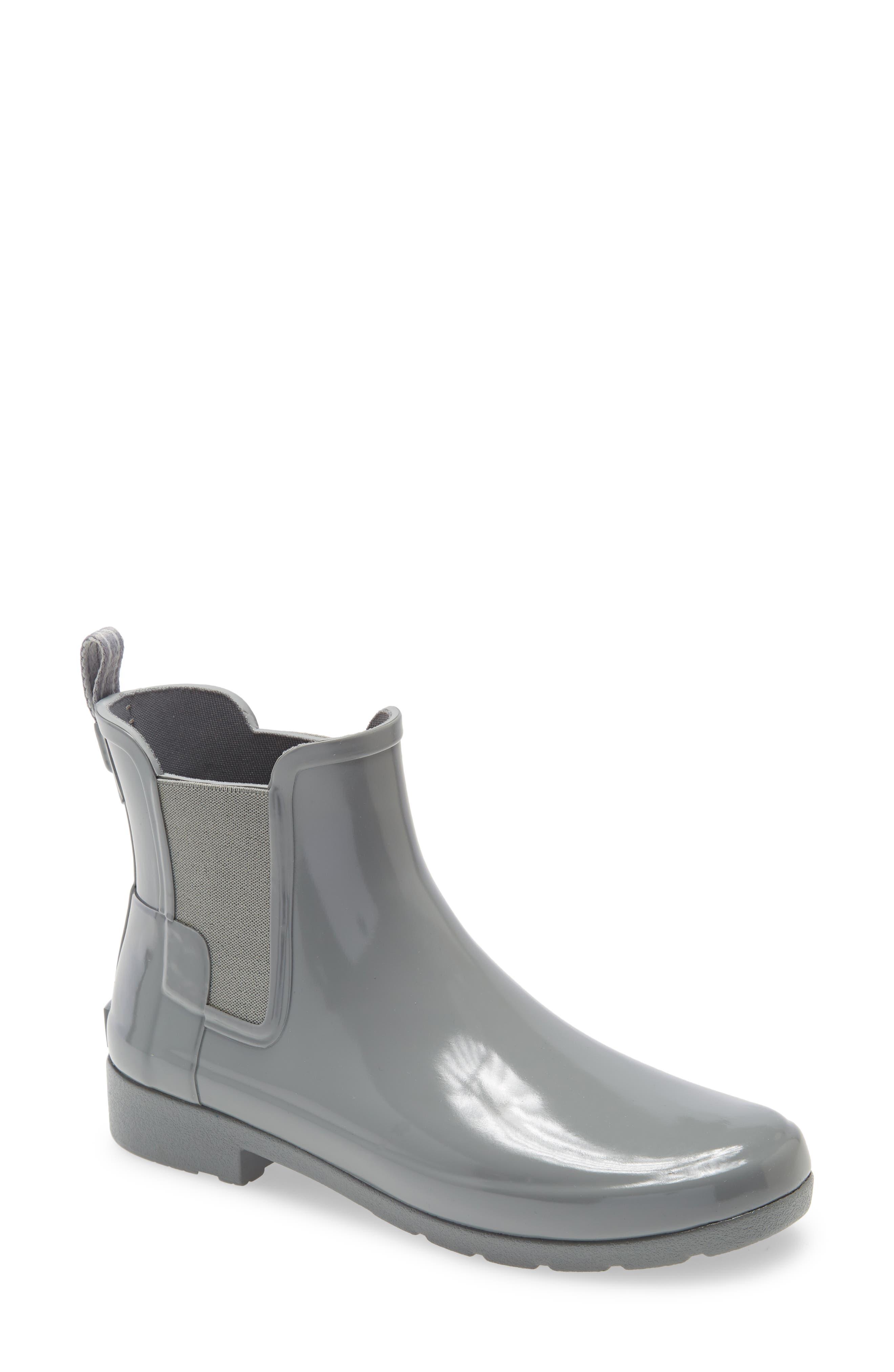Image of Hunter Original Refined Chelsea Waterproof Rain Boot