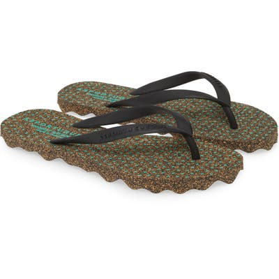 Asportuguesas By Fly London Star Flip Flop, 9/40 - Black