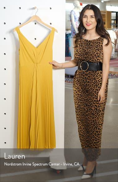 Twist Front Pleated Midi Dress, sales video thumbnail