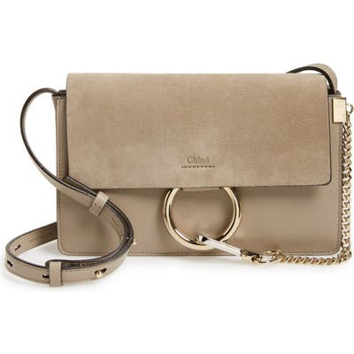 Chloe Small Faye Leather Shoulder Bag -
