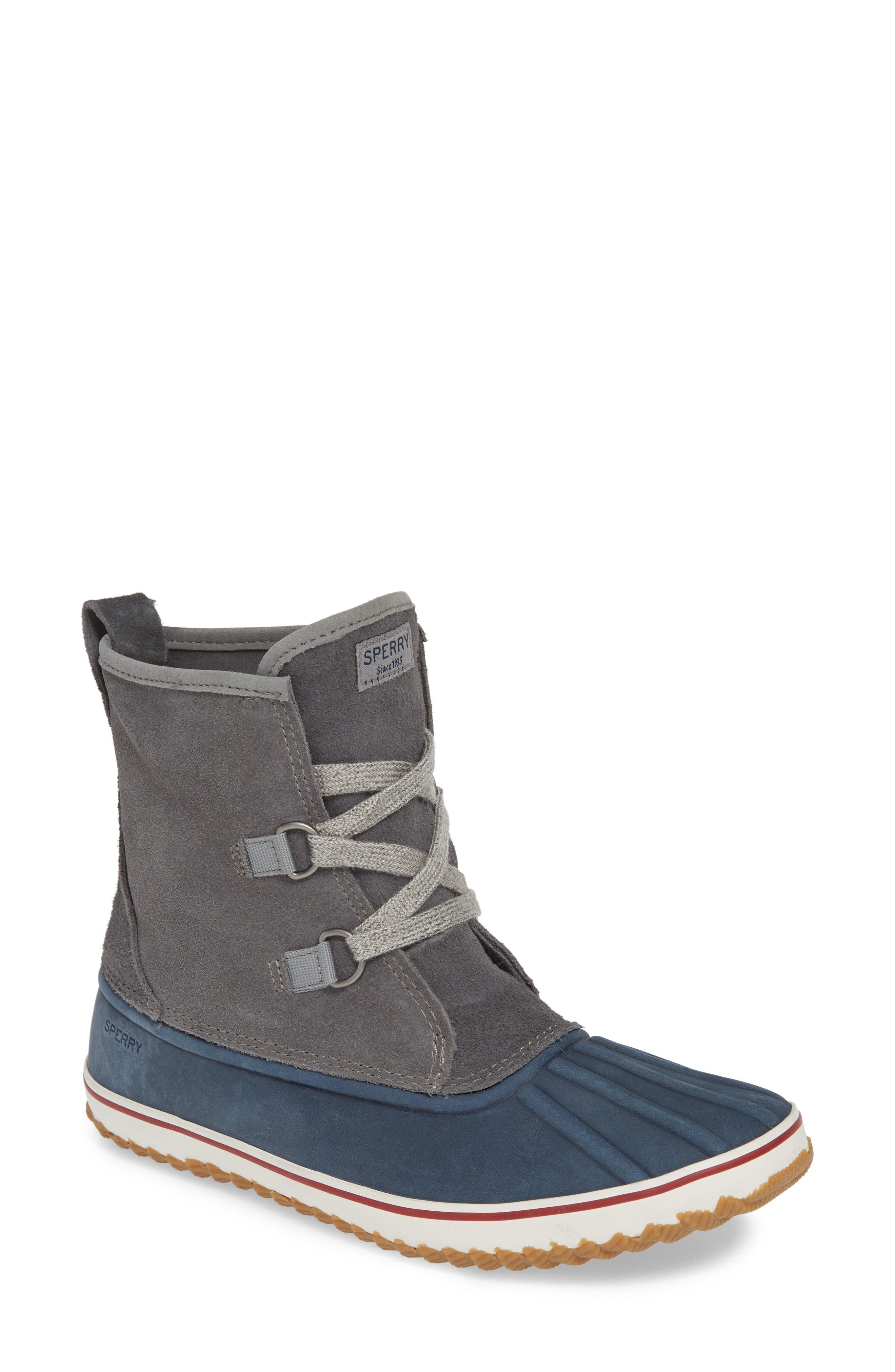 Sperry Schooner Duck Boot, Grey