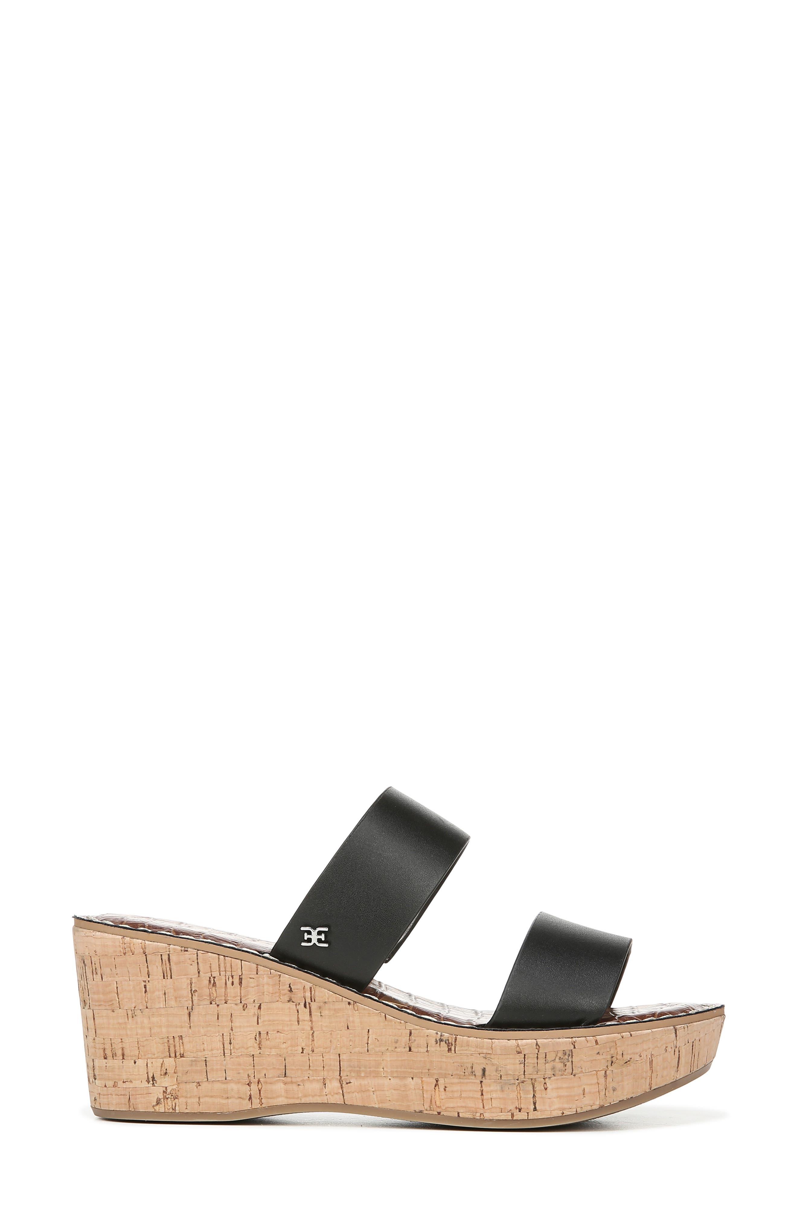 ,                             Rydell Platform Slide Sandal,                             Alternate thumbnail 2, color,                             BLACK LEATHER
