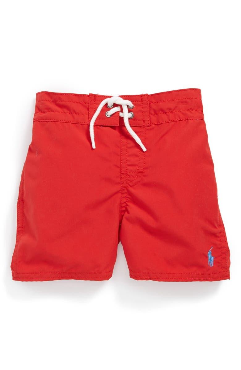 99f0da8958 Ralph Lauren Swim Trunks (Toddler Boys) | Nordstrom