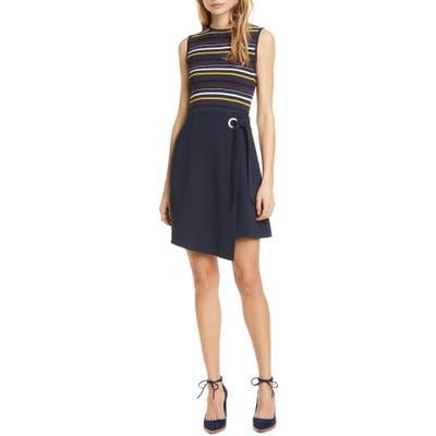 Ted Baker London Anjelix Knit Dress, (fits like 16-18 US) - Blue