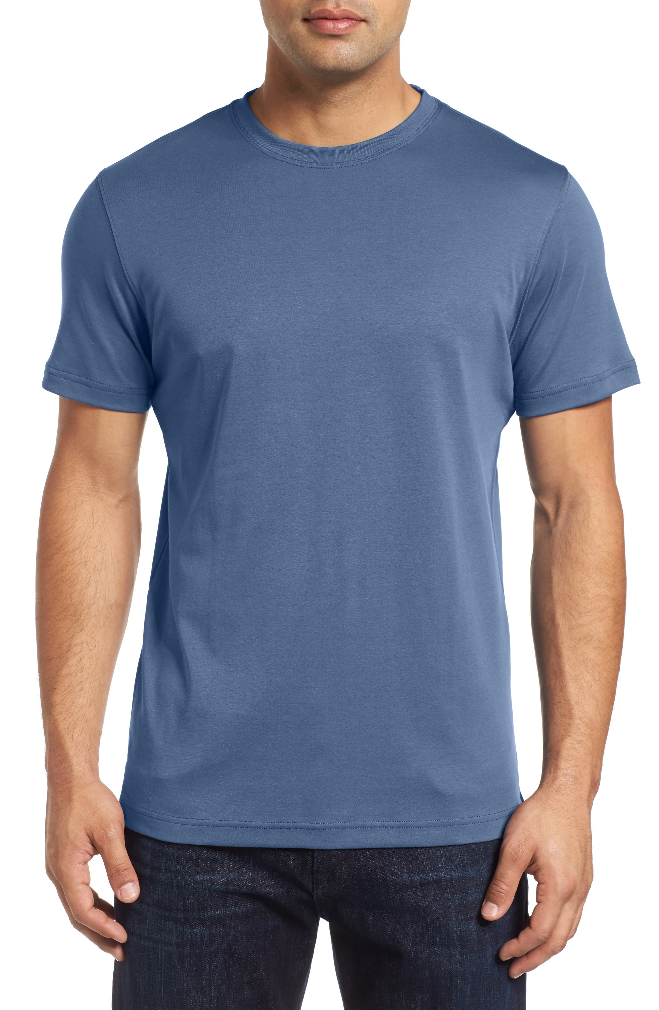 ,                             Georgia Crewneck T-Shirt,                             Main thumbnail 310, color,                             455