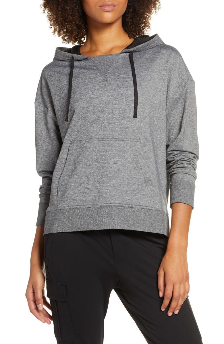 ZELLA Zellness Cozy Pullover Hoodie, Main, color, 001