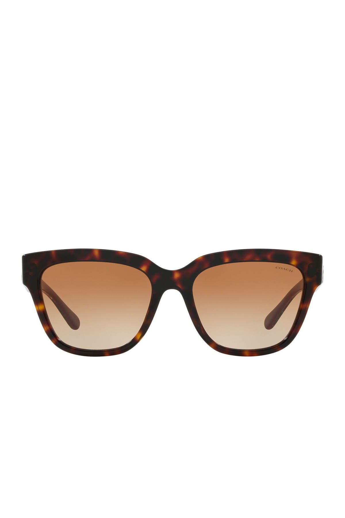 Image of Coach 55mm Square Sunglasses