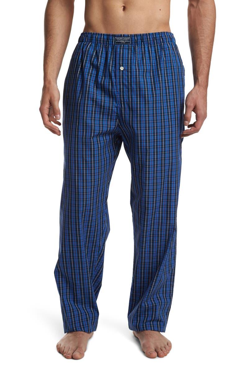 POLO RALPH LAUREN Woven Pajama Pants, Main, color, 400