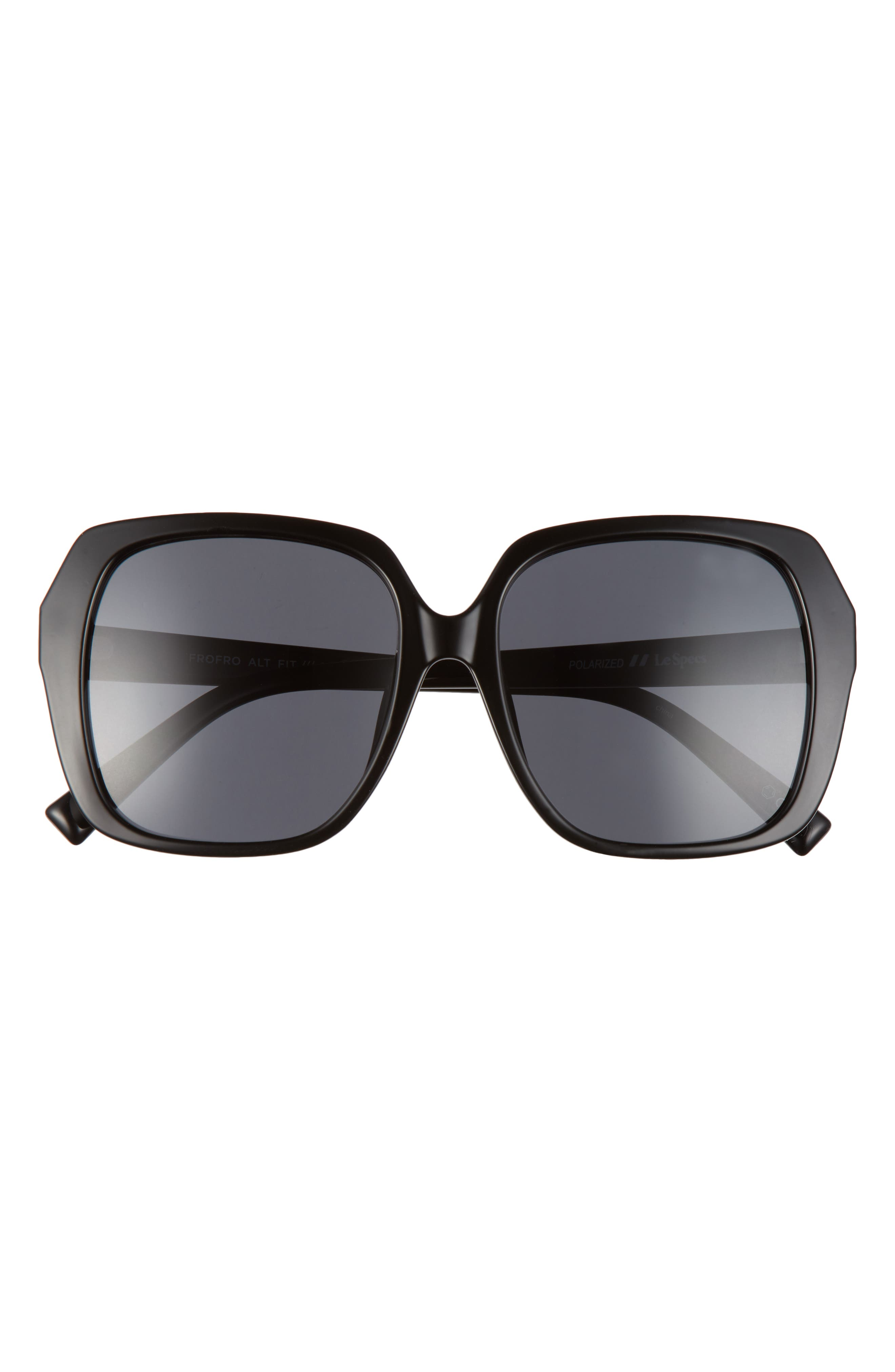 Frofro Alt Fit 56mm Tinted Square Sunglasses