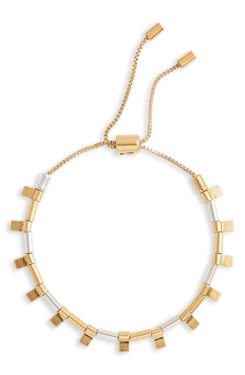 MADEWELL Adjustable Bracelet, Main, color, 710